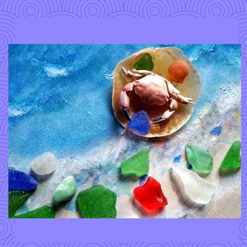 SEA PEACE - October 2014 Sea Glass Photo Contest