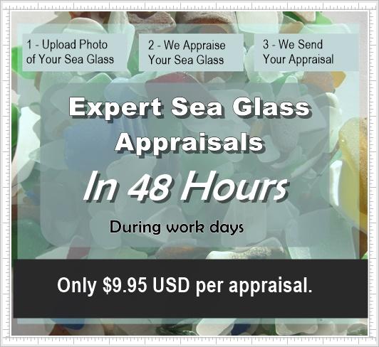 Sea Glass Appraisals, Beach Glass Valuations