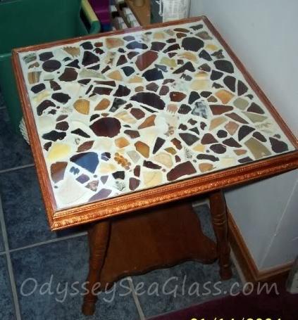 Sea Glass Coffee Table