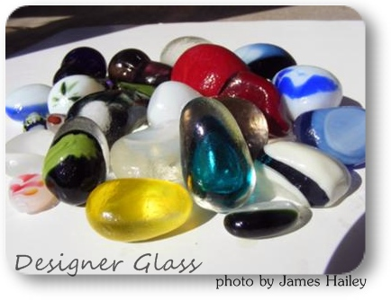 Designer Glass - Beach Glass