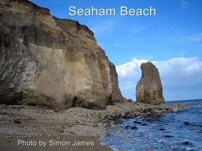 Cliffs of Seaham Beach