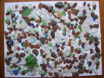 Searching for Beach Glass Treasures