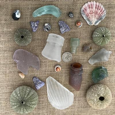 Sydney Australia beach glass and treasures