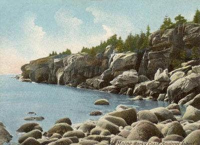Rocky Coast, Squirrel Island, Maine