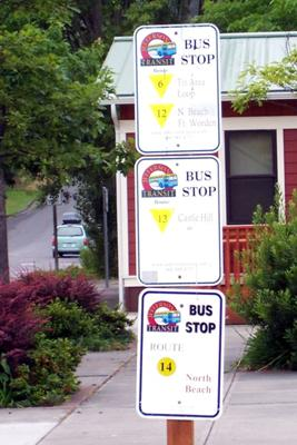 North Beach Bus Stop Port Townsend