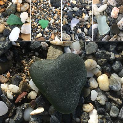 Sea Glass From Tathra Beach