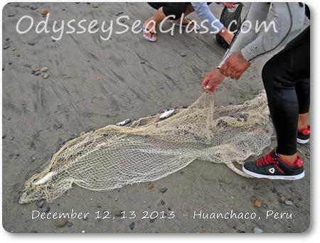 throw net fishing peru