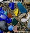 Nome beach glass details