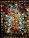 Seaglass Lobster Mosaic