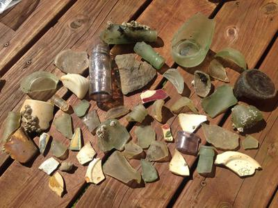 Ellamar, Prince William Sound, Alaska Sea Glass Reports