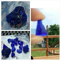 vitrite slag black sea glass