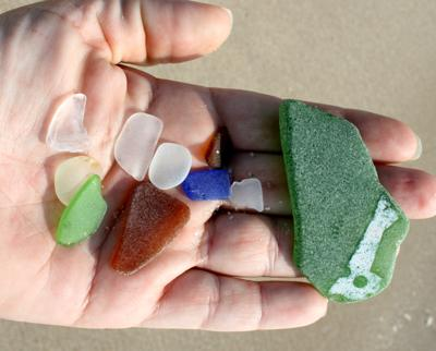 What is this sea glass from?