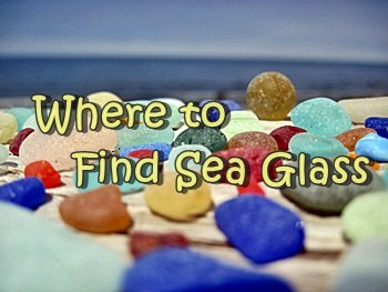 Where to find sea glass reports  around the world