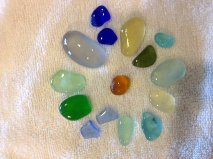 Worth The Walk - Sea Glass Beauties