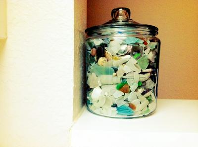 Years in a Jar  - August 2012 Sea Glass Photo Contest