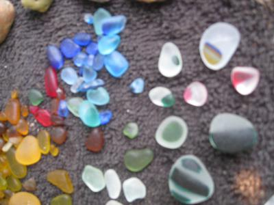 Seaham Mulit-Colored Sea Glass